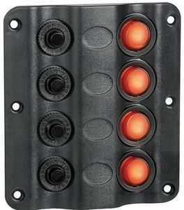 Marine Switch Panel 4 LED
