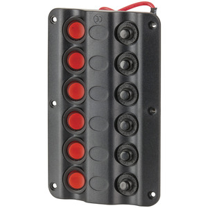 Marine Switch Panel 6 LED