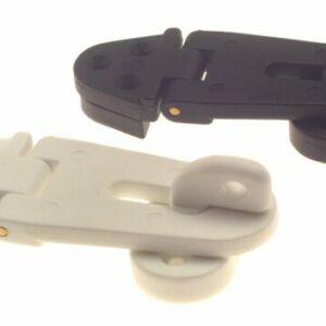 bg140 hasp and staple 300x300 - HASP & STAPLE (Plastic Black or White)