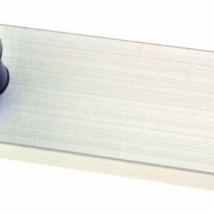 bg53 adjustable aluminium slide 300x300 - BLANK SLIDE WITH NYLON RUNNERS & INDEX P