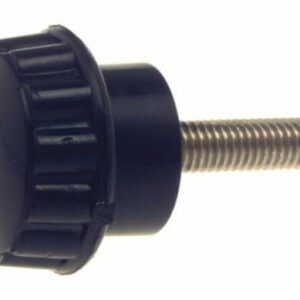 bg61a1 screw knob 300x300 - KNOB - 20mmDIA HEAD WITH 5mm THREAD x 20