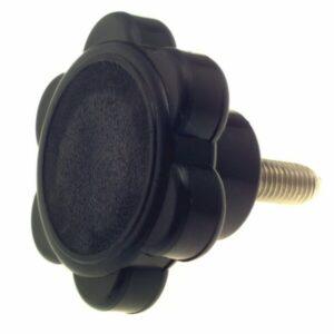 bg61d1 tightening knob 300x300 - KNOB - 73mmDIA HEAD WITH 12mm THREAD x 3