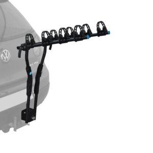 Holdfast hang-on ball mount bike rack
