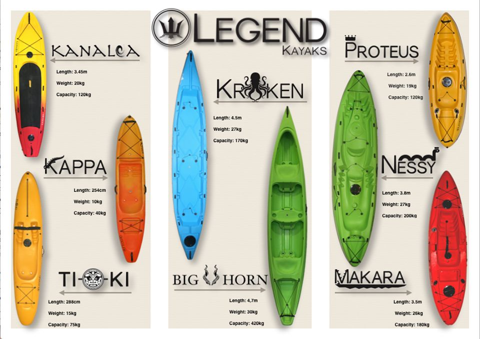 legend kayak range - Kayaking - What You Need to Know