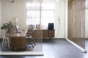 nautical rope room divider interior design