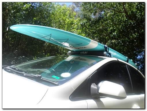 gear roof rack car racking system paddle kayak fishing rod surfboard blog