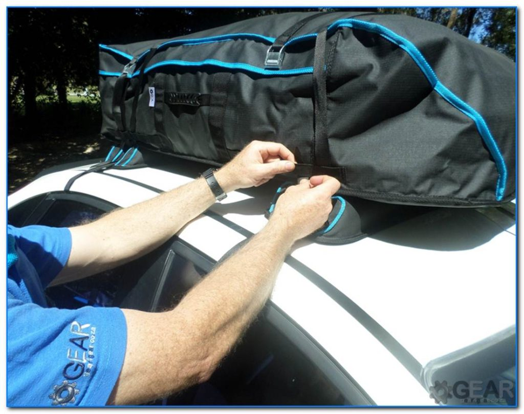 universal soft roof rack bag