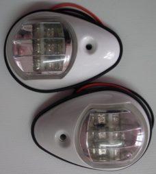 6258wled nav lights 228x254 - Nav Light LED Pair Port & Starboar
