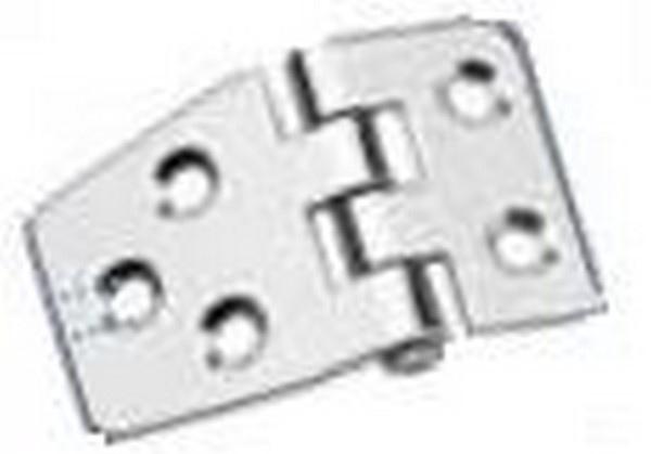 70661 reversed stainless hinge - Hinge 54x38.5 REVERSED 316SS