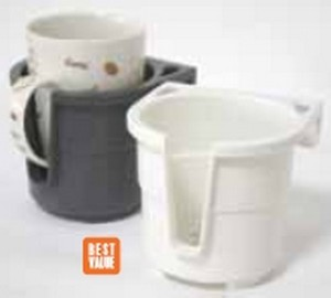 94161 cup holder 300x270 - Drink Holder - Store All - Wht