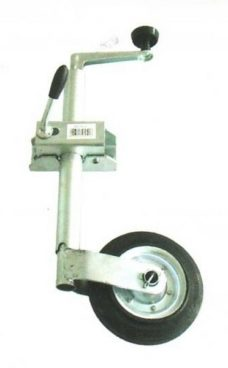 b5 005 6 trailer jockey wheel 228x368 - JOCKEY WHEEL 400LB 6inch Rubber Whl