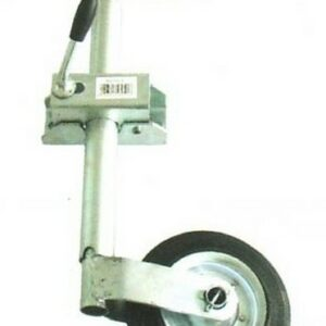 b5 005 6 trailer jockey wheel 300x300 - JOCKEY WHEEL 400LB 6inch Rubber Whl