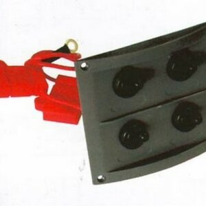 b5 027 4 waterproof switch panel 300x300 - Switch Panel AAA 4 switch 8x9 in BLK