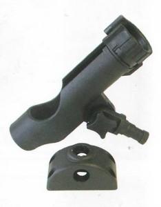 b5 034 2 swivel rodholder dash 234x300 - Rod Holder Plastic W/ Side & Deck Mounti