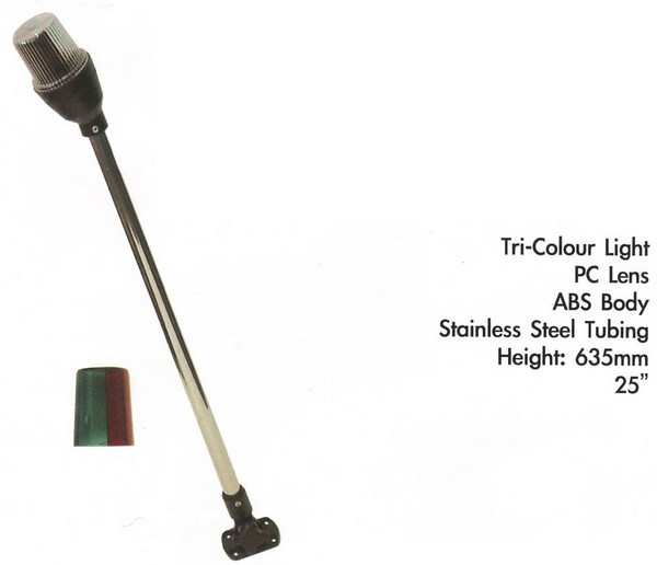 b5 043 2 long anchor light fold up - Light Anchor -SS long pole Folding (CM