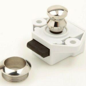 bevtent012a1 button door latch 300x300 - PUSH BUTTON DOOR CATCH