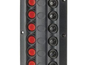Marine Switch Panel 6 LED