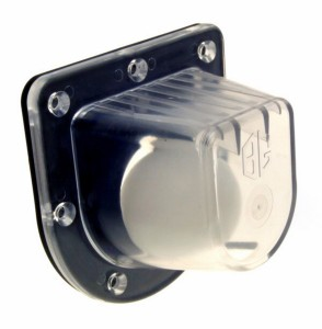 bg123f inflatable duck scupper 294x300 - CLEAR INFLATABLE BOAT SCUPPER WITH HARD