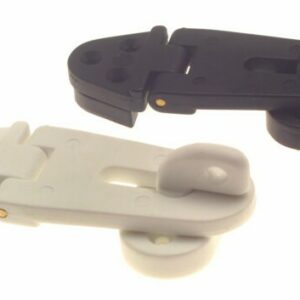 bg140 hasp and staple 300x300 - HASP & STAPLE (Plastic Black or White)