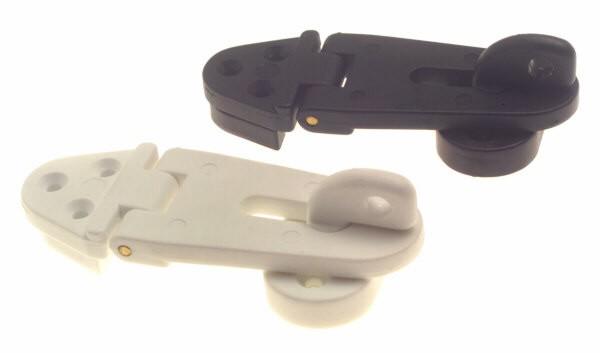 bg140 hasp and staple - HASP & STAPLE (Plastic Black or White)