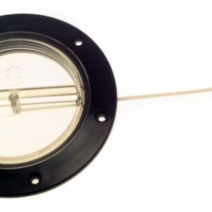 bg141d see through hatch 300x300 - INSPECTION HATCH 4in CLEAR BLK