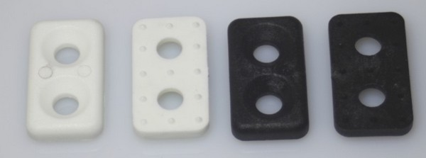 bg14d webbing anchor - TOESTRAP PLATE for 30mm Strapping
