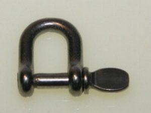 bg42c1 dee shackle 300x225 - S/STEEL 4mm D SHACKLE (DISC.)