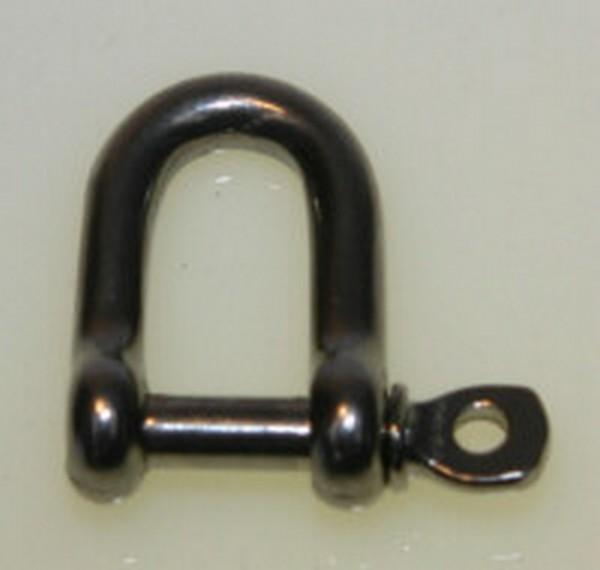 bg42c3 d shackle - S/STEEL 6mm D SHACKLE