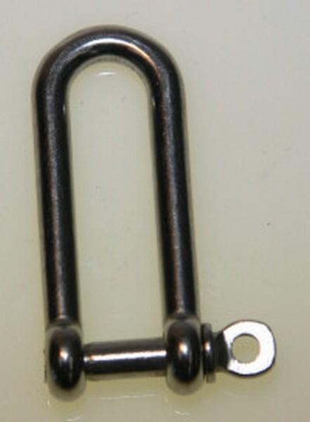 bg42e2 long d shackle - S/STEEL 5mm LONG inD in SHACKLE