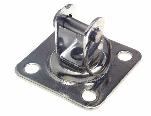 bg43b swivel base with clevis pin - STAINLESS STEEL BASE WITH SWIVELLING BLO
