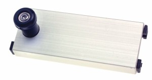 bg53 adjustable aluminium slide 300x158 - BLANK SLIDE WITH NYLON RUNNERS & INDEX P