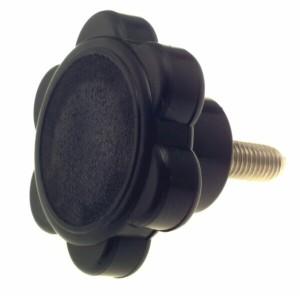 bg61d1 tightening knob 300x296 - KNOB - 73mmDIA HEAD WITH 12mm THREAD x 3