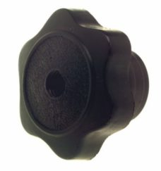 bg61e knob 228x243 - KNOB - 40mmDIA HEAD WITH 8mm THREAD RIGH