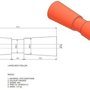 boat trailer roller 01 300x300 - Roller 1 - 80x320