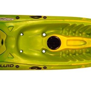 fluid kayak paddle locomotion craft