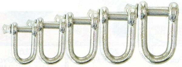 dee shackle galvanised - DEE SHACKLE - 16mm - GALV