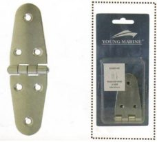 dh40140 strap hinge 228x206 - Round Side Hinge 40x140mm