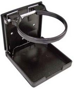 folding cup holder 248x300 - Drink Holder Folding BLK/WHT