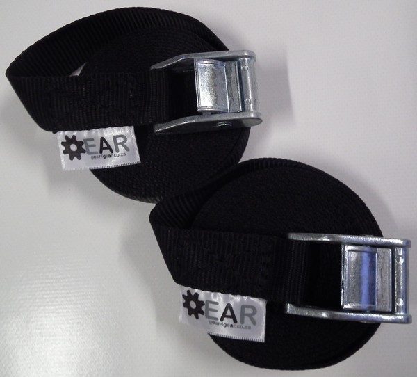 gear tie downs - Tie-Down 3m 25mm Cam with protector