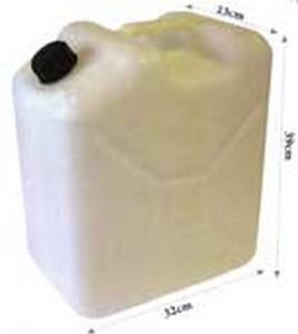 pj25 jerry can upright fuel tank 268x300 - FUEL TANK UPRIGHT CLEAR 25L
