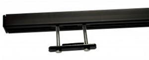 rail roof rack black bar