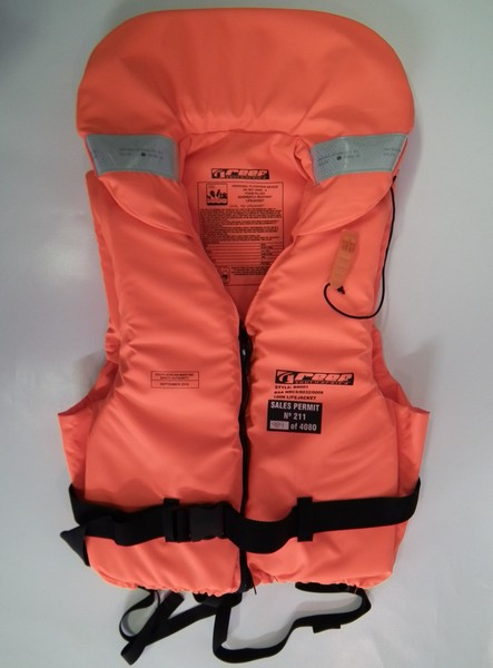 reef working type life jacket paddle
