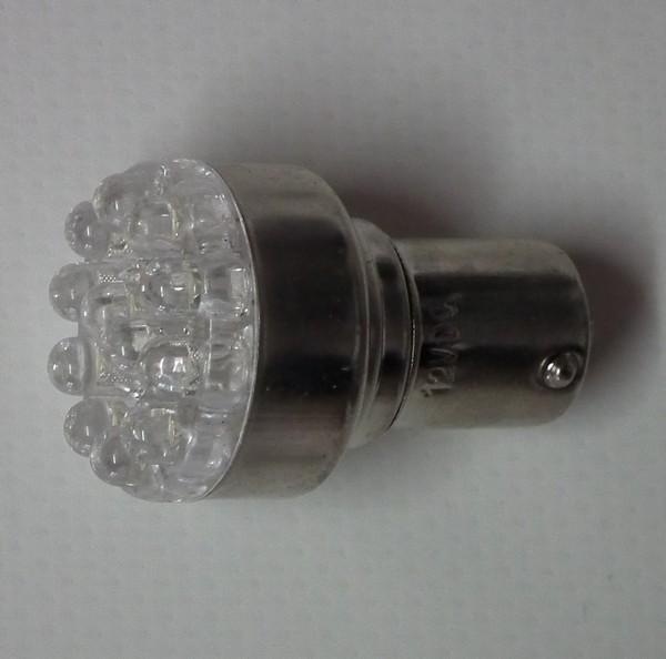 s1 012s led anchor light bulb - LED LIGHT 12LED SINGLE CONTACT - SOLD PE
