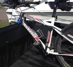 Bakkie Tailgate Bike rack