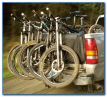 bakkie tailgate bike rack 211x192 - Bakkie Tail Gate Bike Rack