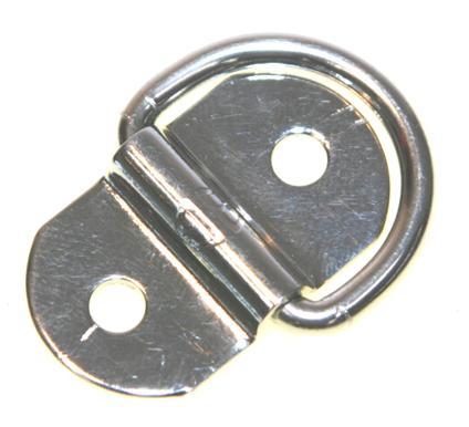 bg45e - S/S COLLAPSABLE SADDLE (Round) 4mm DIA